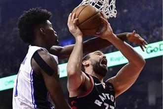 NBA》林書豪5分3籃板 暴龍戲耍魔術強摘4連勝