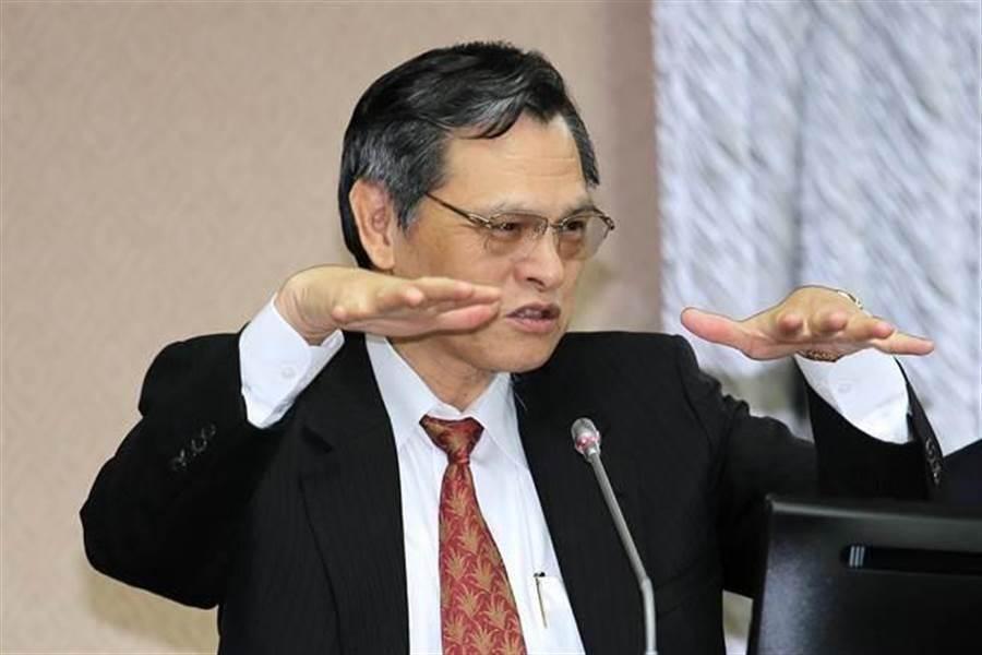 陸委會主委陳明通。(資料照,黃世麒攝)