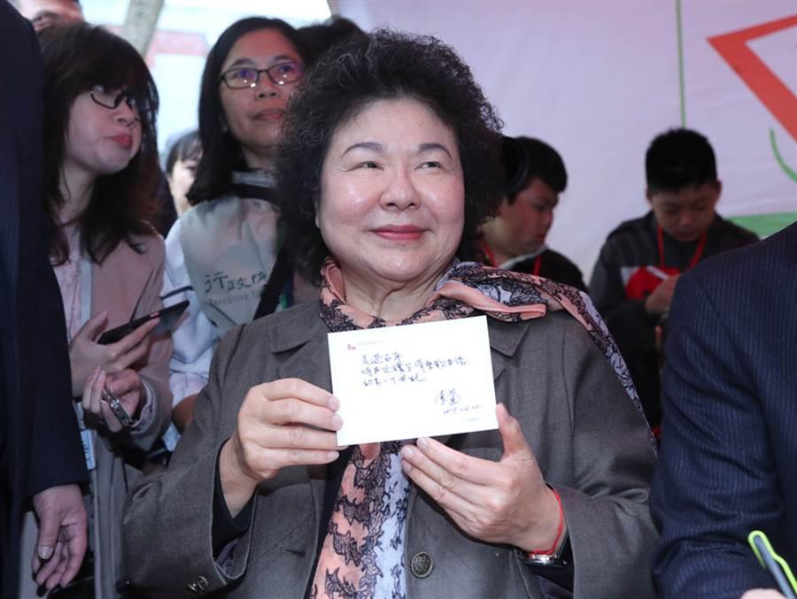 總統府秘書長陳菊。(中央社)
