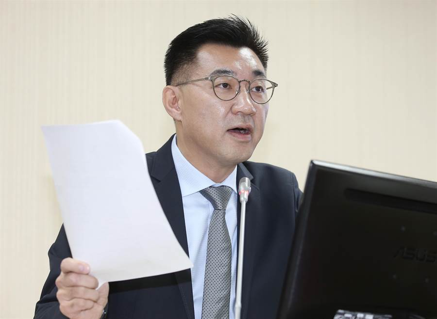 國民黨立委江啟臣。(圖/姚志平)
