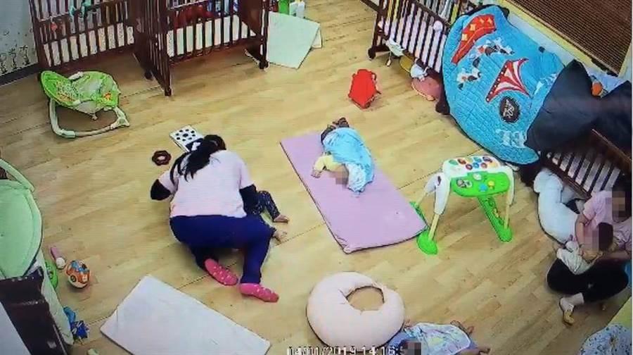 北市內湖區「我們的托嬰中心」發生保母用身體壓制11月大男嬰窒息死亡事件。(中時資料照)