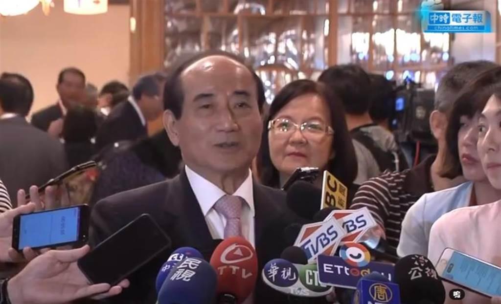 前立法院長、國民黨初選總統擬參選人王金平。(圖/本報影音截圖)