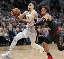 NBA》馬刺逆襲斬老鷹 保住西區第七席位