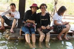 六龜花賞溫泉公園改造足湯區升級為SPA泡湯區