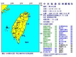 台東延平首見規模5地震 2周內恐有4級以上餘震