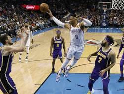NBA》連3季場均大三元 韋少只差3助攻
