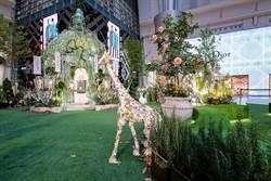 巴黎夢幻花園重現101!拍照當公主、花藝創作好樂活