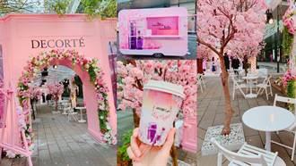 這裡美炸了!超浪漫的露天櫻花咖啡座only 6天限時登場!