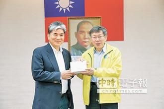 李鴻源告誡柯 政治問題自己決定