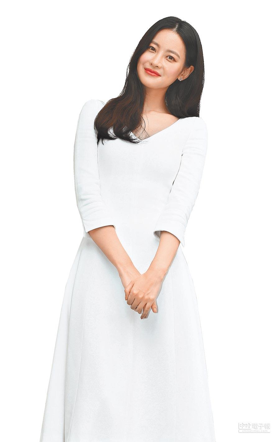 韓劇《花遊記》中飾演唐三藏的吳漣序,首來台參加代言品牌「AHC旗艦快閃店」開幕活動。(粘耿豪攝)