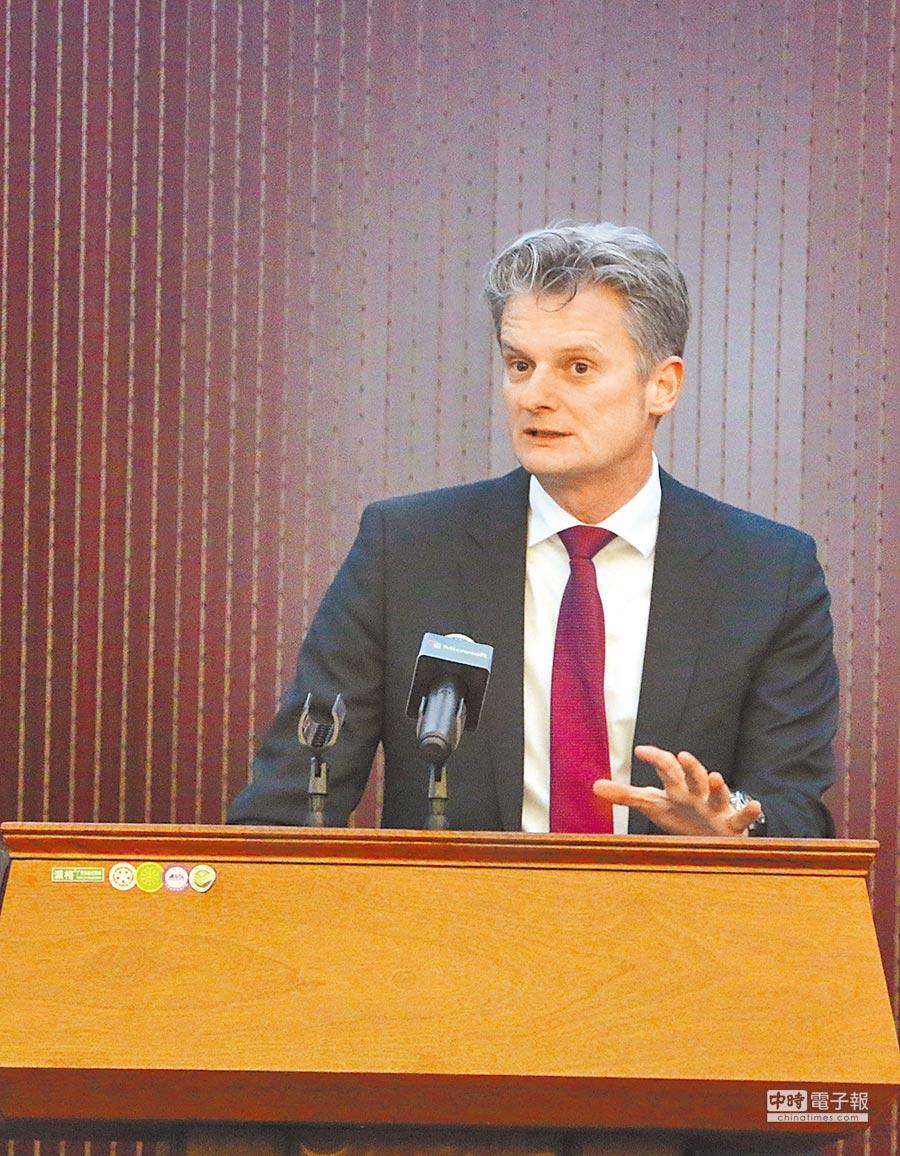 微軟亞太區總裁賀樂賦(Ralph Haupter)。(中新社資料照片)