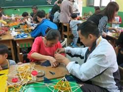體驗兒童節  越南媽媽帶孩子做燈籠解鄉愁