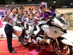 超萌小小警察 台南婦幼隊兒童節守護孩子開心過節