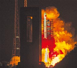 大陸天鏈二號01星 成功發射