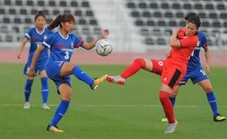 東奧第2輪資格賽 中華女足3球開紅盤