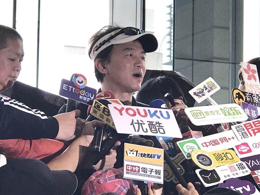 孫鵬告假372天後,今正式復出《國光》。(圖/莊珮欣攝影)