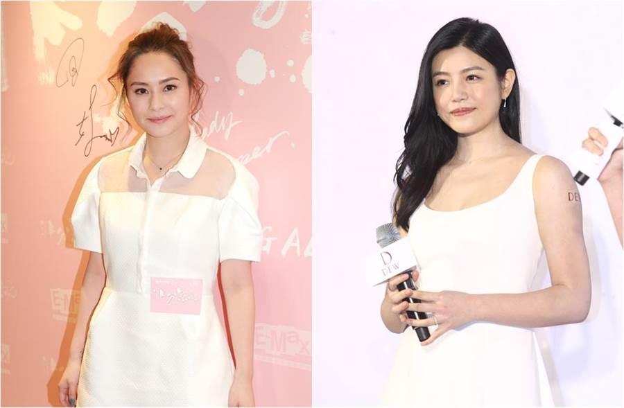 阿嬌和陳妍希本名分別因登記結婚和生產時又被討論。(圖/達志影像)