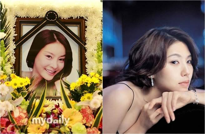 張紫妍10年前輕生,外界關注起和她同公司的李恩宙(右圖)等人死因。(圖/取自《MyDaily》、《OSEN》韓網)