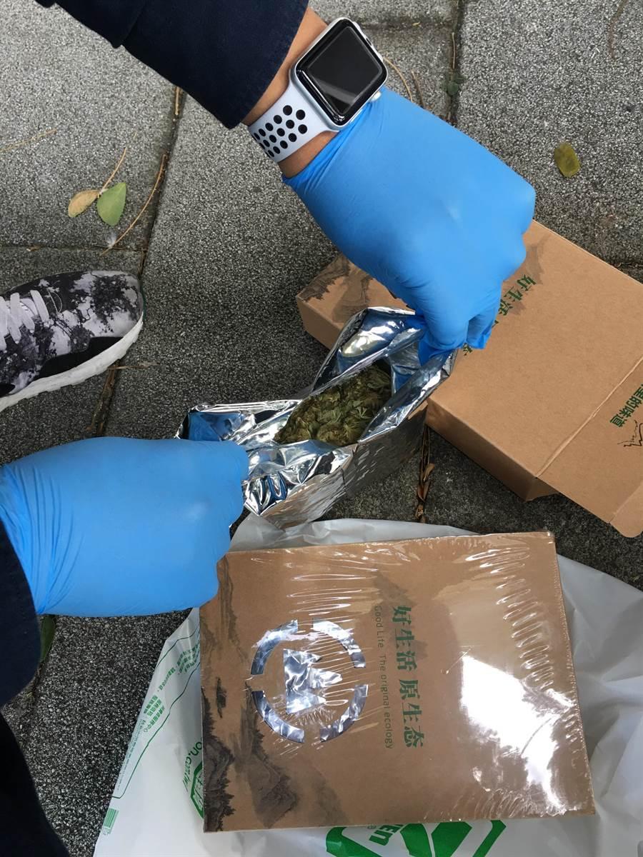 張姓憲兵賣大麻案後,北市警方陸續再逮捕14名藥頭,起獲12公斤的大麻。(陳鴻偉翻攝)