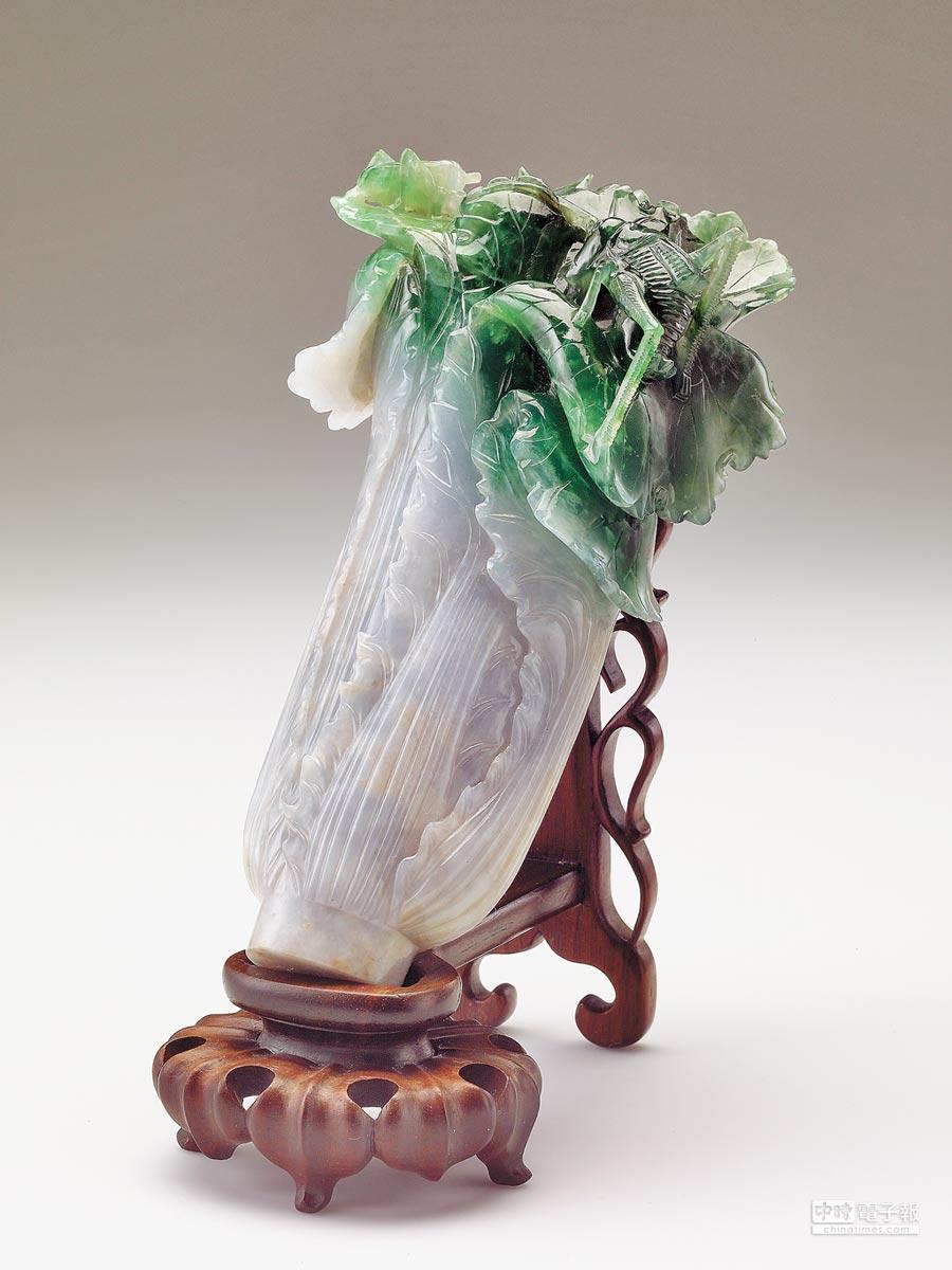 翠玉白菜。