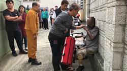 獨居翁遭火嗆傷燒傷 帶氧氣罩拒送醫