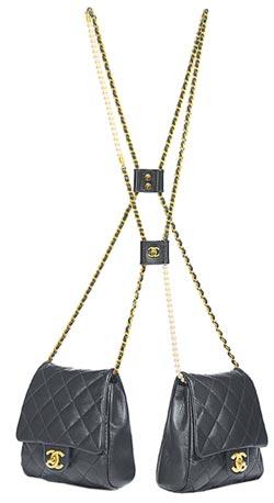 Chanel鍊帶雙包新潮加倍