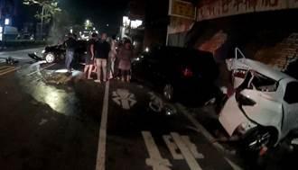 撞翻5部汽機車 恍神哥車內一堆「咖啡包」