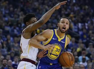NBA》柯神歸位!勇士險退騎士4連勝