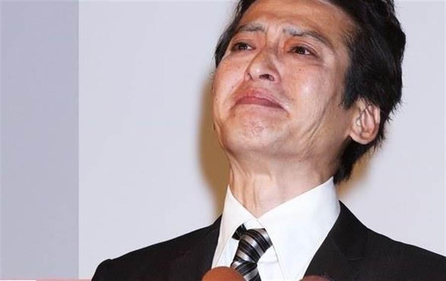大澤樹生當年在淚崩認了與兒子沒有血緣關係。(取自日網)