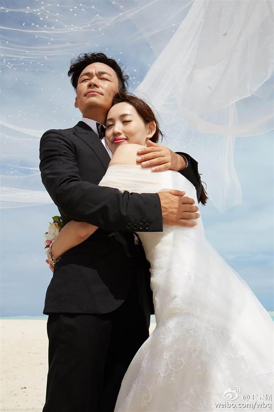 王寶強痛認妻子馬蓉出軌經紀人。(取自微博)