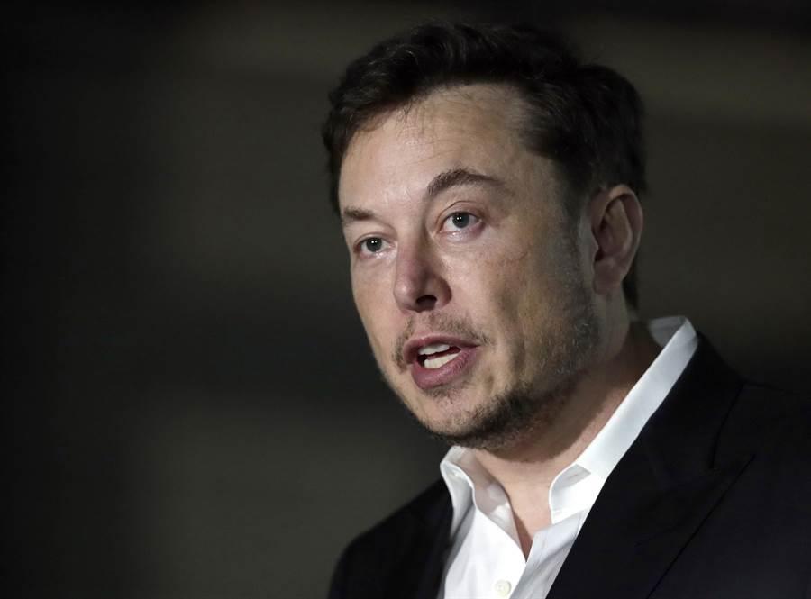 美國電動車大廠特斯拉執行長馬斯克(Elon Musk)。(美聯社資料照片)