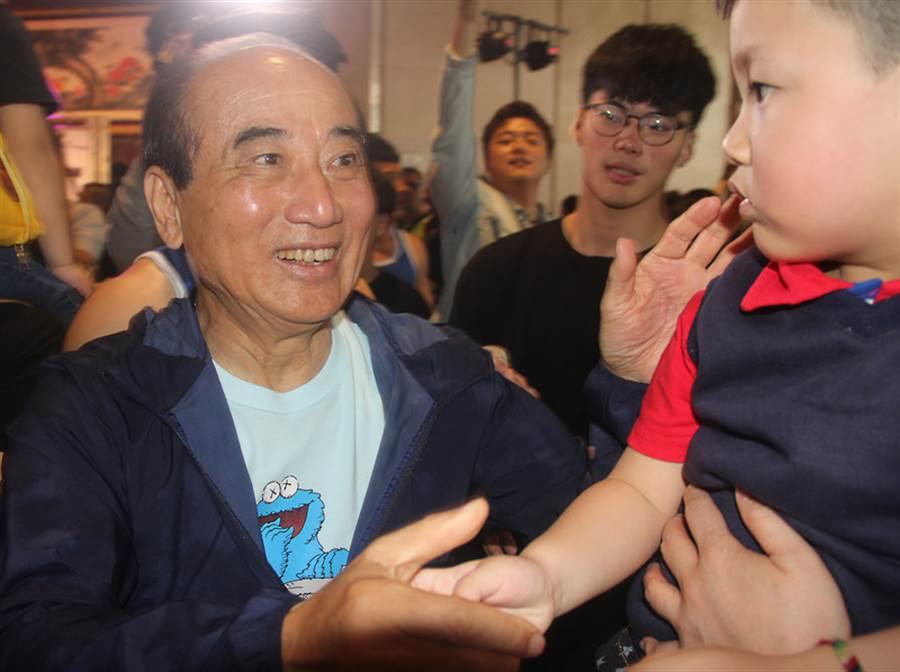 前立法院長王金平。(圖/中央社)