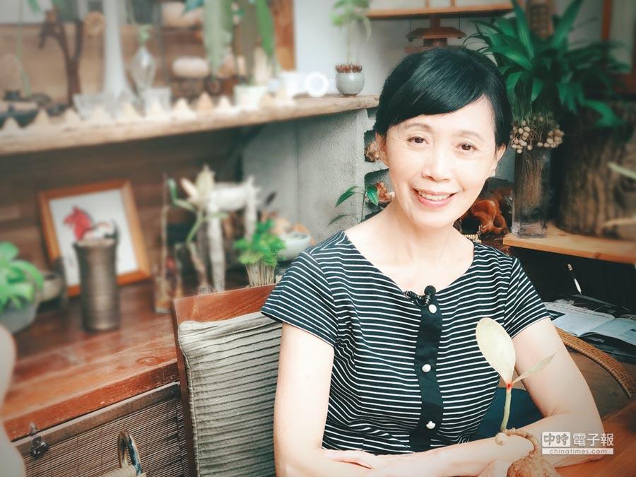 種子盆栽創始人—林惠蘭。圖/領飛無限文創集團提供
