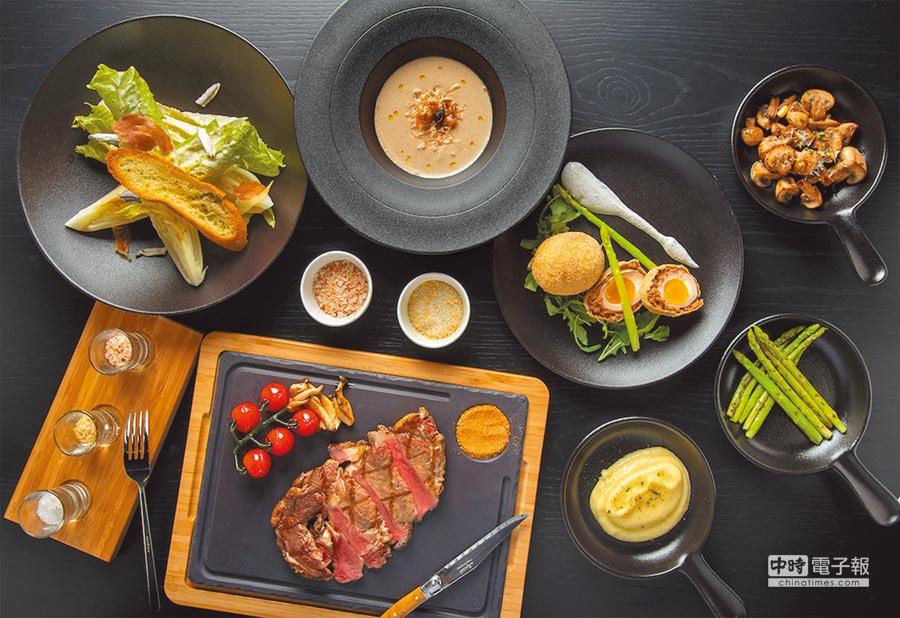 新竹英迪格酒店引進全台首家「CHAR Bar & Bistro」餐廳,為新竹饕客端上第1家國際品牌等級的美味牛排料理。圖片提供新竹英迪格酒店