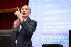 韓國瑜展現掃毒決心 網留言大歪樓