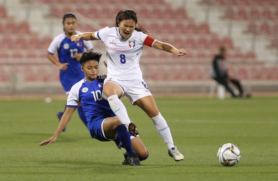 中華女足隊長王湘惠相當期待台灣主辦亞洲盃。(資料照片/中華足協提供)