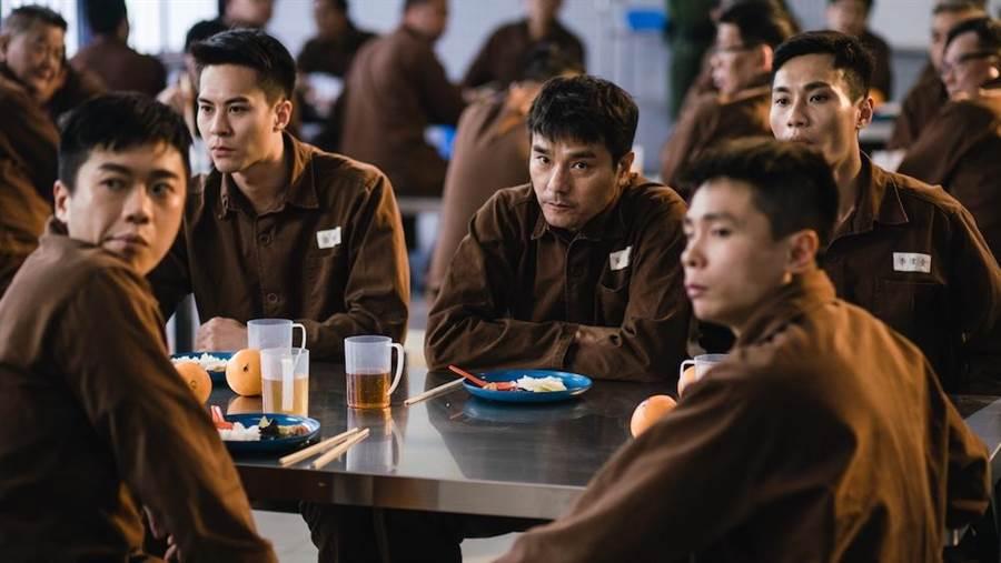 林家棟是《Z風暴》被古天樂親手捉拿入獄的警界高官。(華映提供)