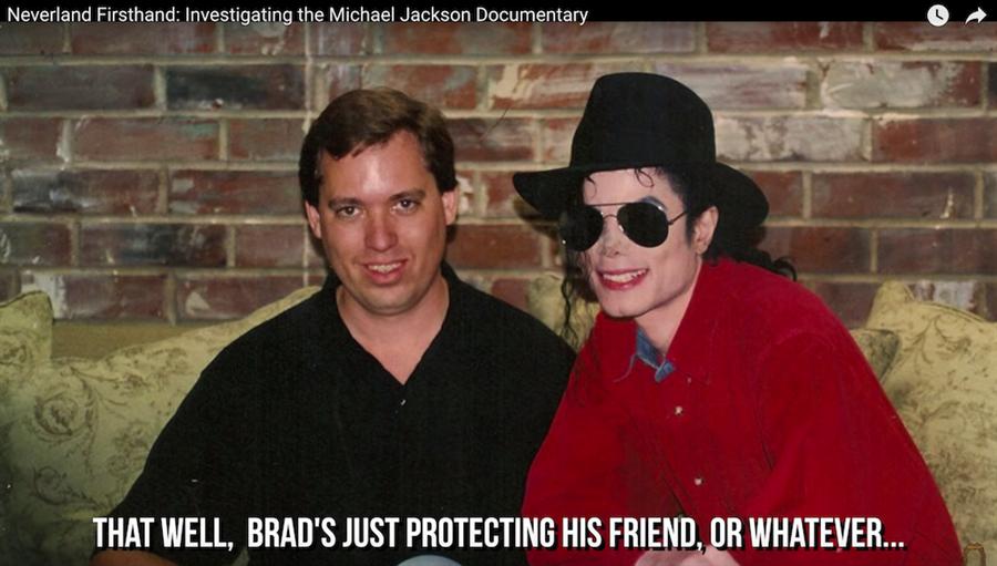 布萊德表示即使有人質疑他是袒護好友,但他反駁,若知道有人虐童,絕對會在第一時間揍對方。(截自YouTube)