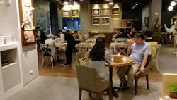 陽明海洋藝術文化館內邦彼諾義式餐廳以在地食材提供平價親民餐飲