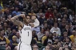 NBA》籃網捕獲溜馬 羅素領軍進季後賽