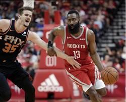NBA》賽季十大球星 哈登字母哥柯瑞前三