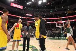 NBA》超越張伯倫 阿提托康波史上第一人