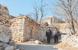 天津石頭村驚豔世界 變身打卡地