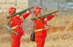 滅火炮優勢 監視樹林防星星之火