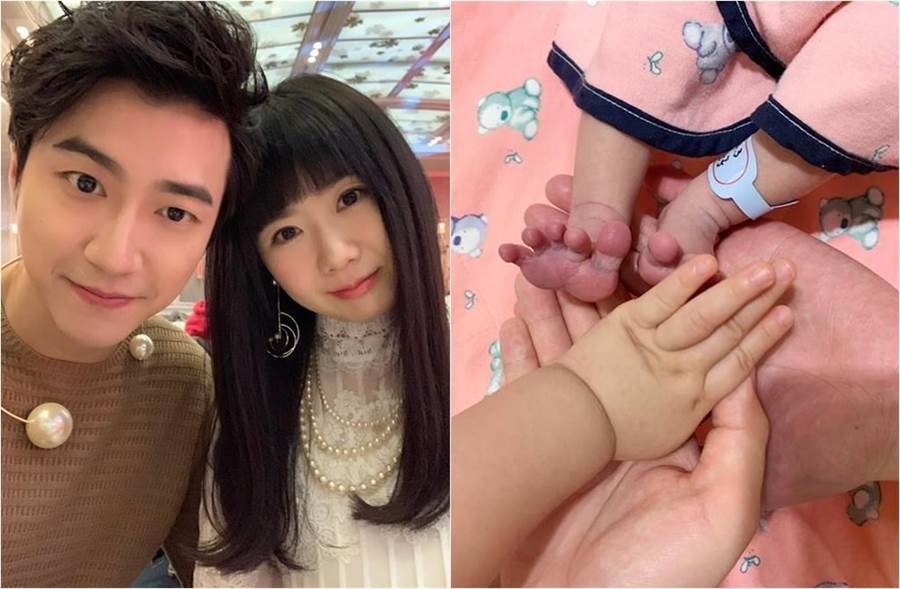 江宏傑上月在臉書報喜,福原愛產下帥氣兒子。(Chiang Hung-Chieh臉書)