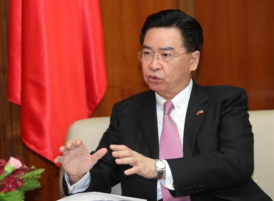 外交部長吳釗燮。(中央社資料照)