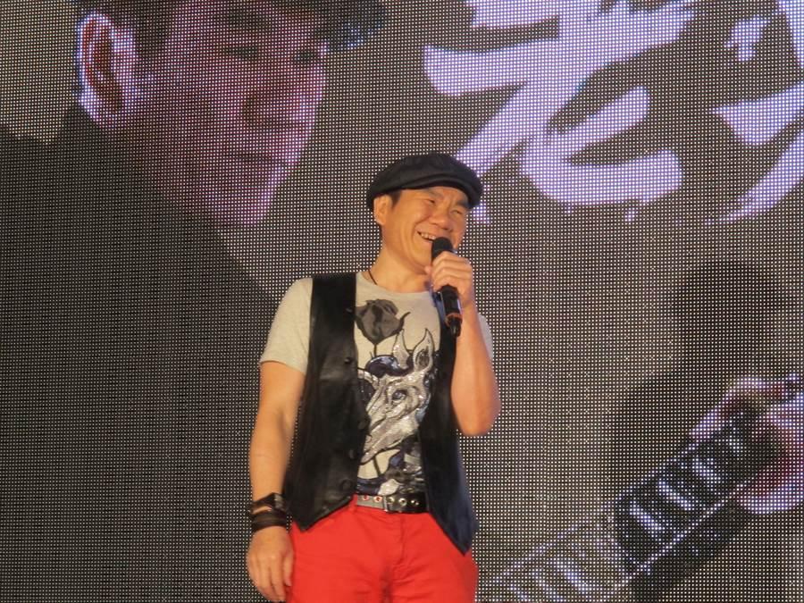 趙傳今辦演唱會記者會。(開麗娛樂提供)