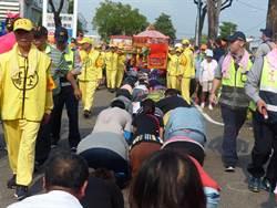 「粉紅超跑」名不虛傳 3小時內通過彰化市