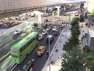 紓解縣民大道塞車 尖峰時段綠燈同步調整為100秒
