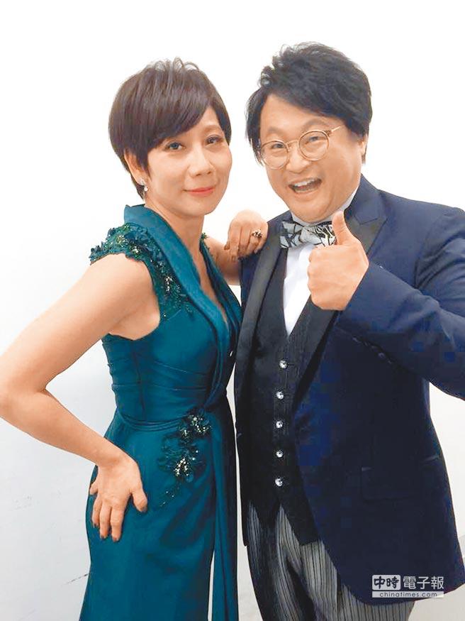 郎祖筠(左)和趙自強的默契很好。(取材自臉書)